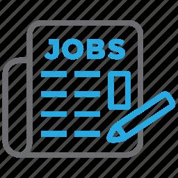 employment, jobs, recruitment, vacancy icon