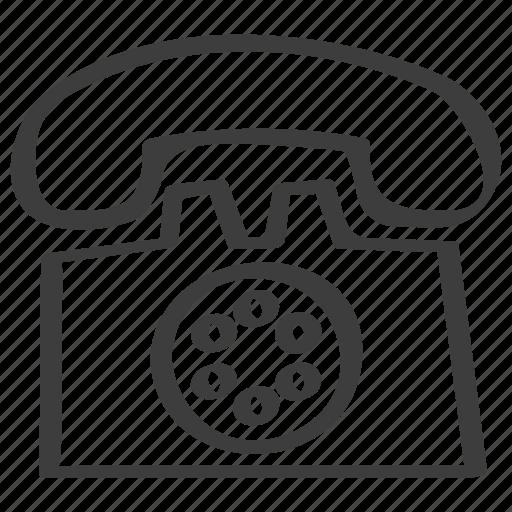 contact us, landline, telephone icon
