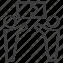 contribution, contributor, cooperation, idea, puzzle, teamwork icon