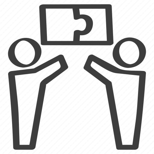 Contribution, contributor, cooperation, idea, puzzle, teamwork icon - Download on Iconfinder
