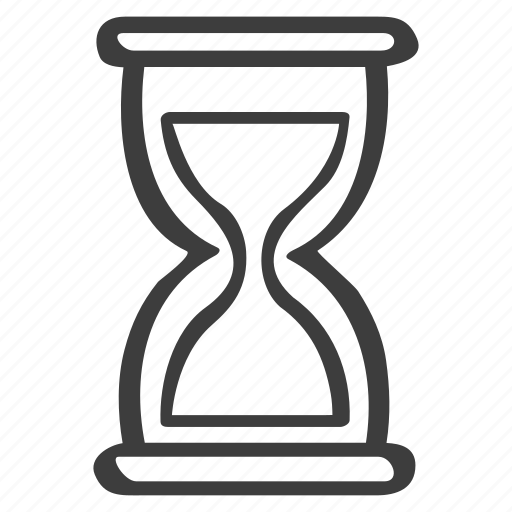 Deadline, hourglass, time, timer icon - Download on Iconfinder