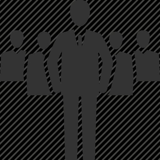 businessman, leader, leadership icon