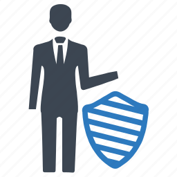 business, businessman, insurance, protection, security icon