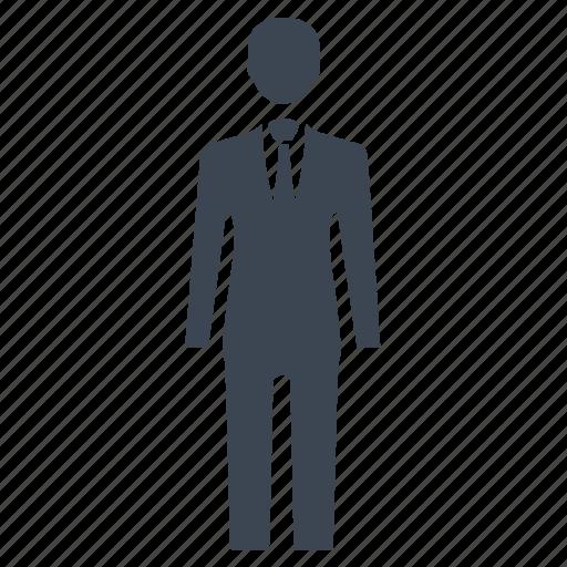 businessman, human, leader, man, officer icon