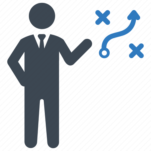 business, solution, strategy icon