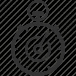 deadline, performance, stopwatch, timer icon