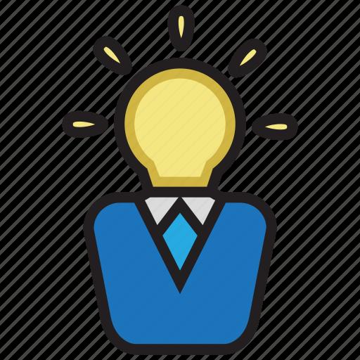 brain, creative, idea, smart icon