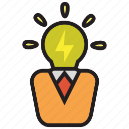 bulb, creative, creativity, idea icon