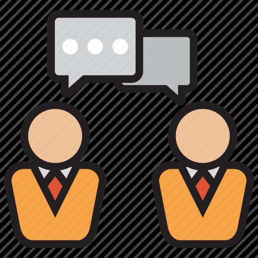 conversation, debate, discussion, talk icon