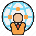 branch, business, company, global, marketing, office, worldwide icon