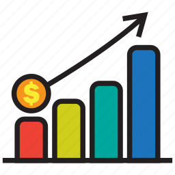 analytics, chart, diagram, graph, profit, statistics, turnover icon