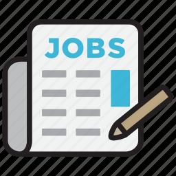 employment, job, jobs, recruitment, vacancy icon