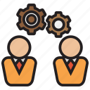 operate, adjust, control, gear, manage icon
