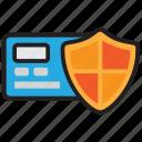 atm, card, cash, finance, guarantee, money, payment icon