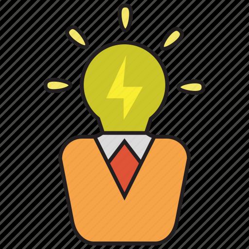 creative, idea, smart icon