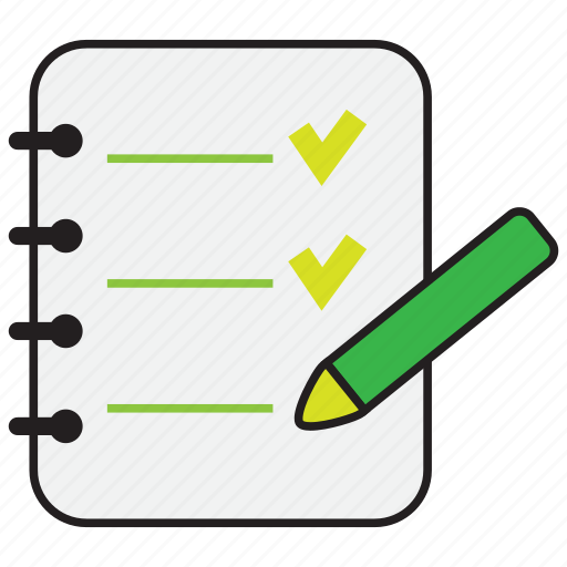 document, file, note, paper, pencil icon