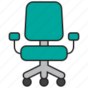 chair, office, furniture, manager, seat, sit
