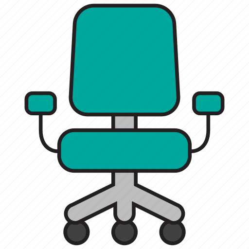 chair, furniture, manager, office, seat, sit icon