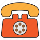 phone, call, telephone, device, dial