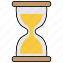 clock, sand, time, timer, watch icon