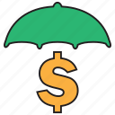 business, cash, currency, finance, investment, money, secure icon