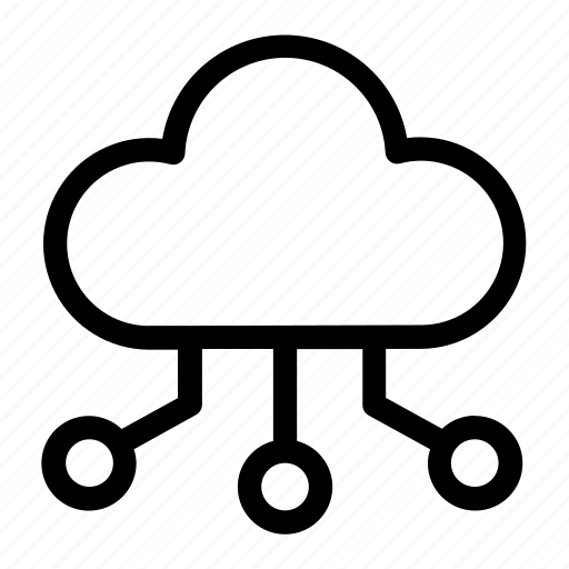 cloud, communication, computing, forecast, lamputing, network, weather icon