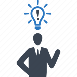 brainstorming, business, business idea, business strategy, businessman icon