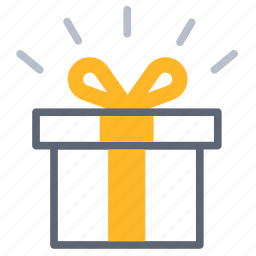 box, gift, marketing, package, present, promotion, surprise icon