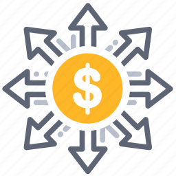 fees, finance, investing, investment, marketing, money, share icon