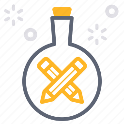 business, content, experiment, experimental, lab, marketing, test icon