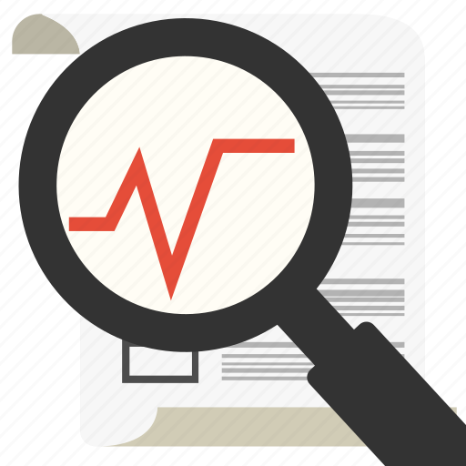 business, chart, financial, graph, management, marketing, search icon
