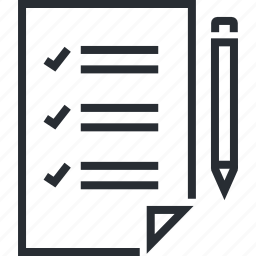 business, line, organization, planning, procedure, thin icon