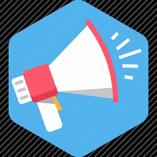 advertisement, announcement, loud, marketing, promotion, sound, speaker icon