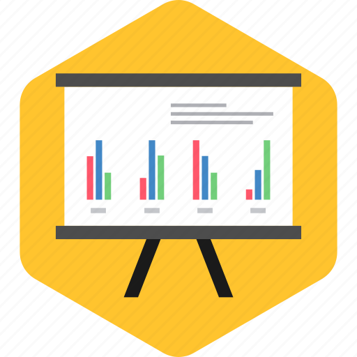 analytics, board, diagram, graph, presentation, report, statistics icon