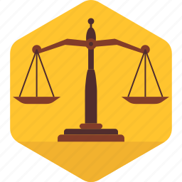 balance, justice, law, measure, scale, weighing, weight icon