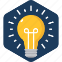 bulb, electric, electricity, energy, idea, innovation, light icon