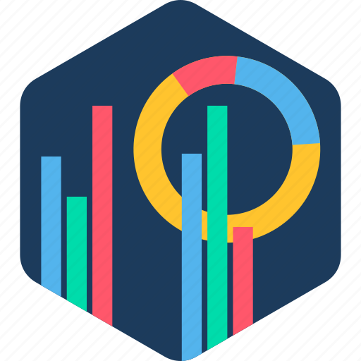 analytics, business, chart, graph, marketing, presentation, statistics icon