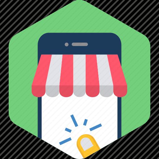 app, click, media, mobile, smartphone, touch icon