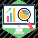 screen, presentation, analytics, computer, monitor, business, display