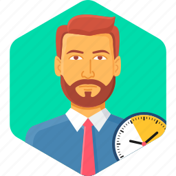 alarm, clock, schedule, time, timer, wait, watch icon