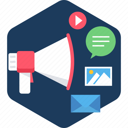 broadcast, communication, media, multimedia, social, sound, video icon