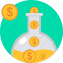 business, cash, financial, flow, income, money, revenue icon