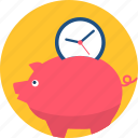 bank, finance, financial, money, piggy bank, saving, savings icon