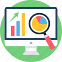 presentation, analysis, analytics, diagram, graph, report, statistics icon