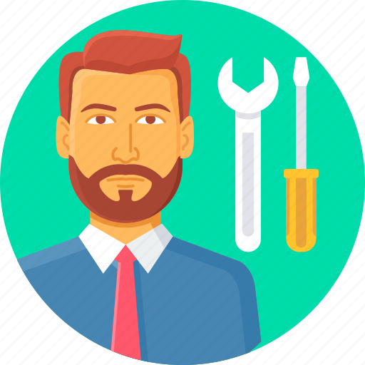 building, construction, mechanic, plumber, repair, work, wrench icon