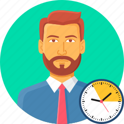 appointment, deadline, punctual, punctuality, schedule, time, timer icon