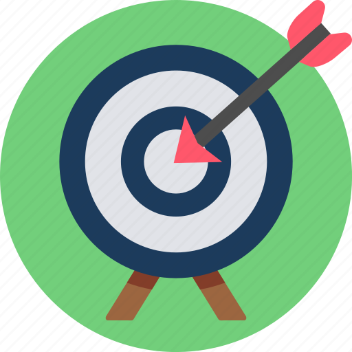 achievement, aim, business, dartboard, goal, success, target icon