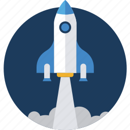 business, launch, missile, project, startup icon
