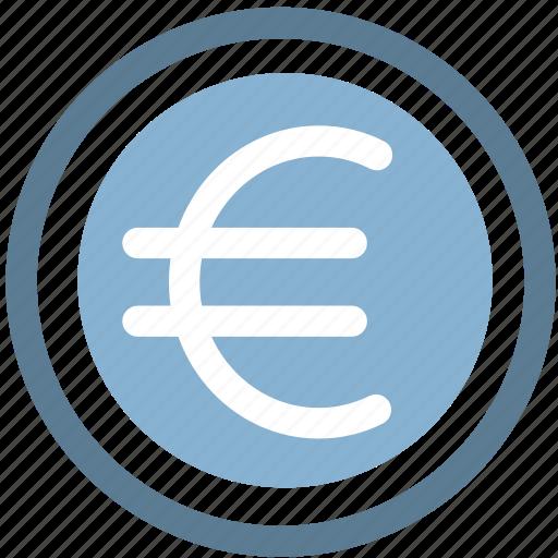 cash, coin, coins, euro, money icon