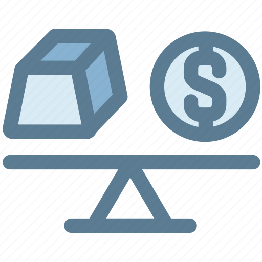 balance, business, gold, money, scale, weight icon
